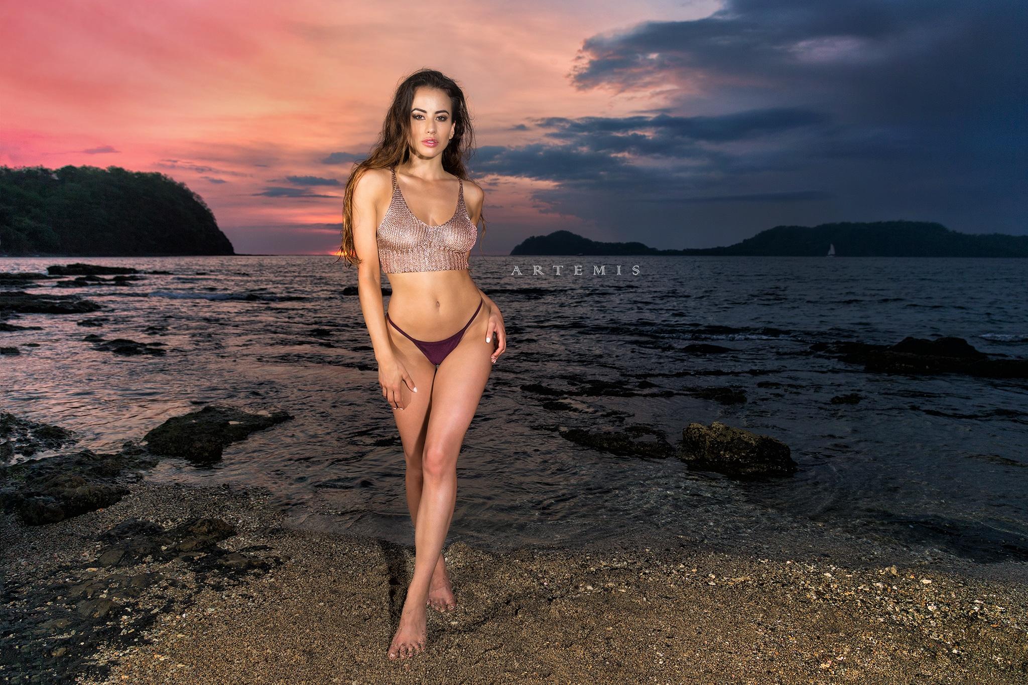 Costa Rica Sunset with Vanessa